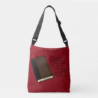 She Reads Books Crossbody Bag