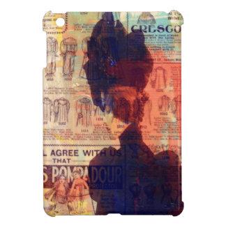 She Remembers Vintage Woman Fashion Ad iPad Mini Cover