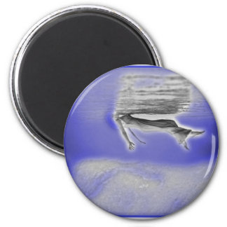 She resides in the Water 2 Inch Round Magnet