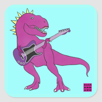 She Rex Guitar Stickers