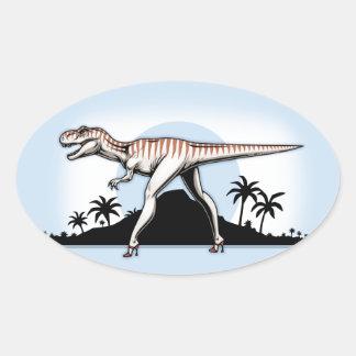 She Rex Oval Sticker