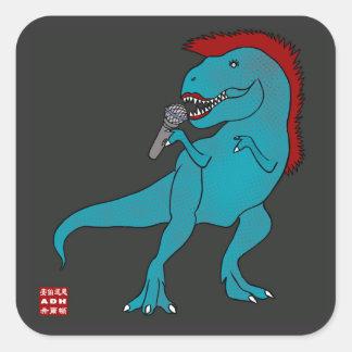 She Rex Singer Stickers