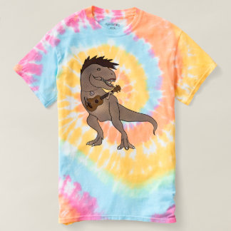 She-Rex Ukulele Tie Dye Shirt