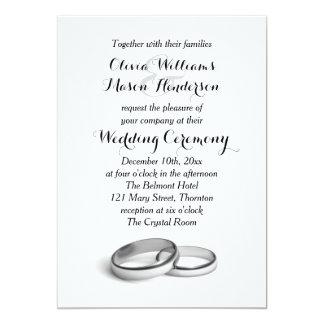 "She said ""Yes"" Wedding Invitation"