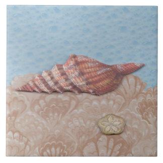 She sells, sea shells ceramic tile