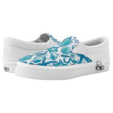 Beach Themed She Sells Sea Shells Shoe