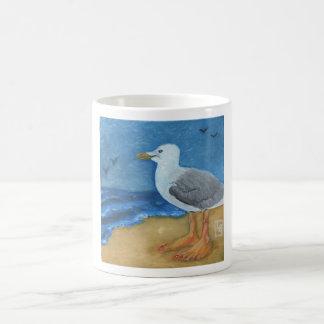 She Sells Seashells bird feet Classic White Coffee Mug