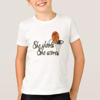 She Shoots...She Scores T-Shirt