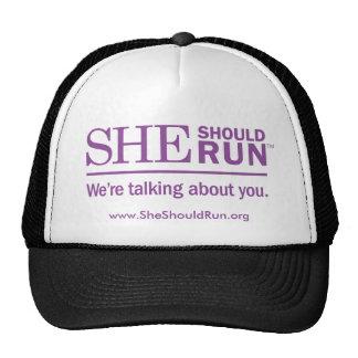 She Should Run hat