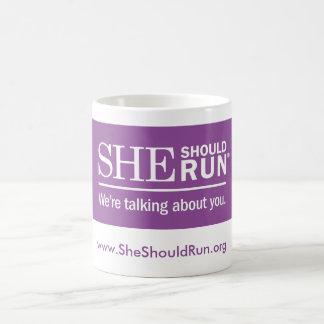 She Should Run mug