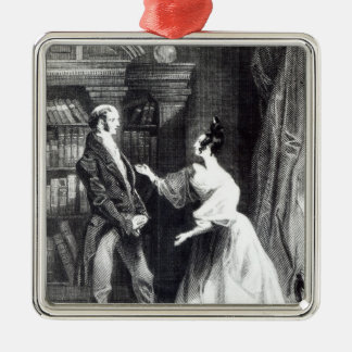She then told him what Darcy had voluntarily Metal Ornament