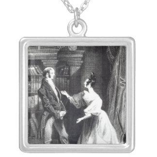 She then told him what Darcy had voluntarily Square Pendant Necklace