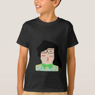 she to hispter to lover funny cartoon T-Shirt