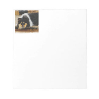 She Waits Tri Color Collie Notepad