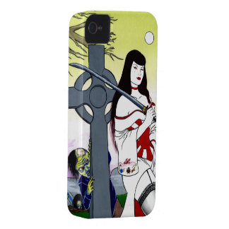 She Walk by Moonlight iPhone 4 Cover