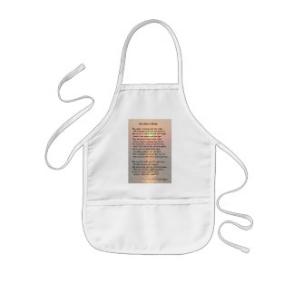 She Walks In Beauty/Cape May Sunset Kids Apron Aprons