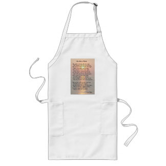 She Walks In Beauty/Cape May Sunset Long Apron Apron