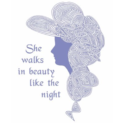 LORD BYRON QUOTES SHE WALKS IN BEAUTY