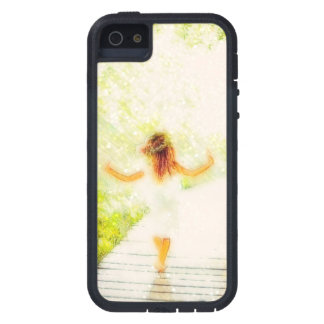 She Walks in Light iPhone 5 Cover