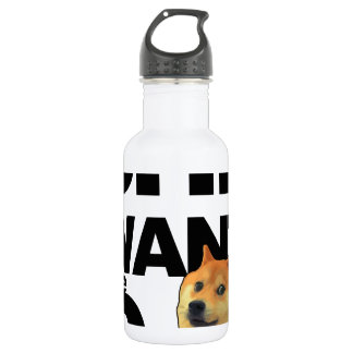 She want the Doge Water Bottle