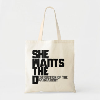 She wants the D Tote Bag