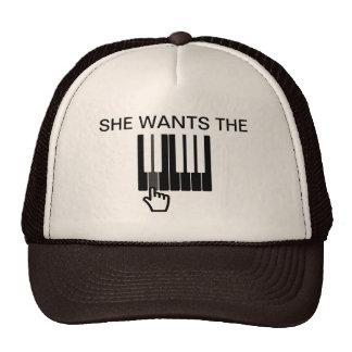 SHE WANTS THE D Trucker Hat