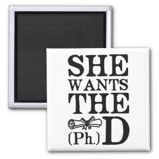 She Wants the PhD Magnet