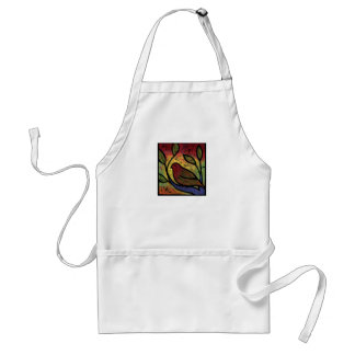 She Watched the Changing Season Apron