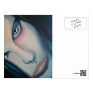 She Whispers Death (c)2013 Charles Bernat Postcard