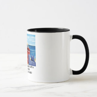 She who dances with Cattle Dogs... Mug