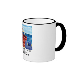 She who dances with Cattle Dogs... Ringer Mug
