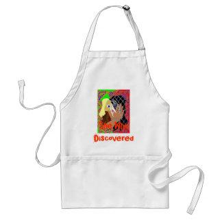 She who discovers apron
