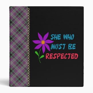 She Who Must Be Respected Binder