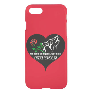 She Wolf Lady Rider Custom iPhone 7 Case