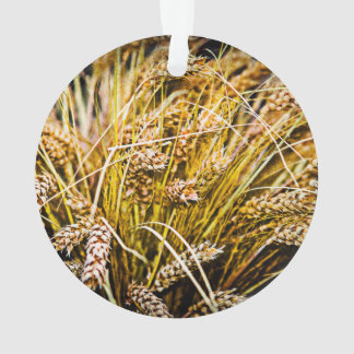 Sheaf Of Wheat - Thank You Ornament
