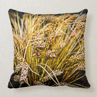 Sheaf Of Wheat - Thank You Throw Pillow
