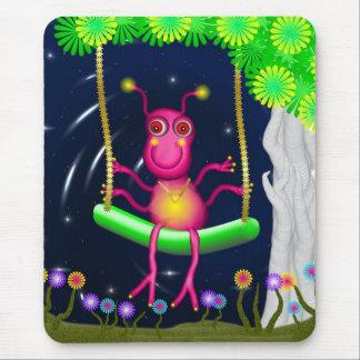 SheAlien on her Swing Mouse Pad