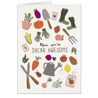 Shear Awesome Mom Card