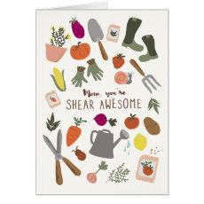 Shear Awesome Mum Card