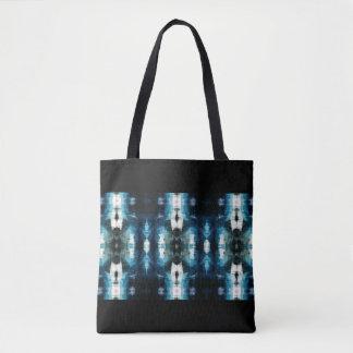 Shear Blue Rustic Western Customizable Tote Bag