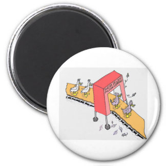 Shear Delight. 2 Inch Round Magnet