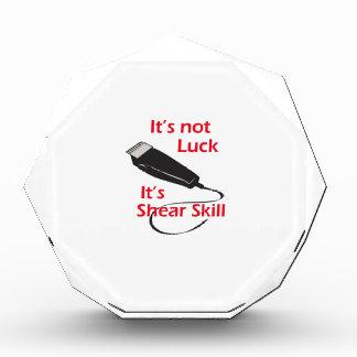 SHEAR SKILL ACRYLIC AWARD