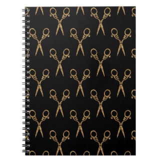 Shears (gold) notebook