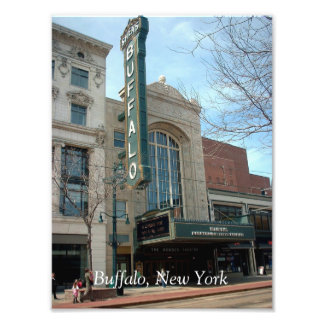 Shea's Buffalo Performing Art Center w/ Buffalo Photo Print
