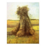Sheaves of Wheat by Vincent van Gogh Personalized Invitations