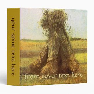 Sheaves of Wheat by Vincent van Gogh Vinyl Binders