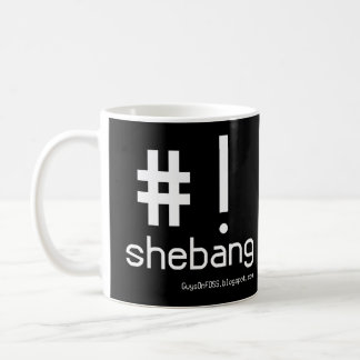 Shebang Mug with logo