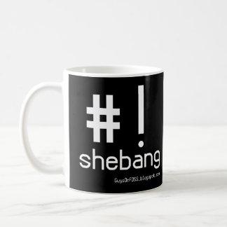 Shebang Mug with logo