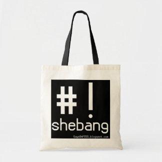 Shebang! Tote Bag