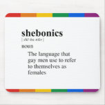 SHEBONICS ALFOMBRILLAS DE RATONES
